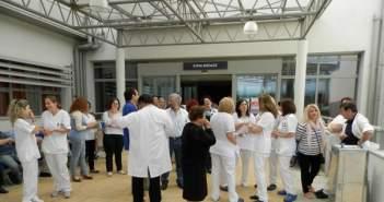 Νοσοκομείο Αγρινίου: Τι ειπώθηκε στη συνάντηση Μιχάλη με τους νοσηλευτές