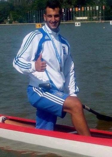 Ο παγκόσμιος πρωταθλητής του canoe, Στέφανος Δημόπουλος στο Μεσολόγγι