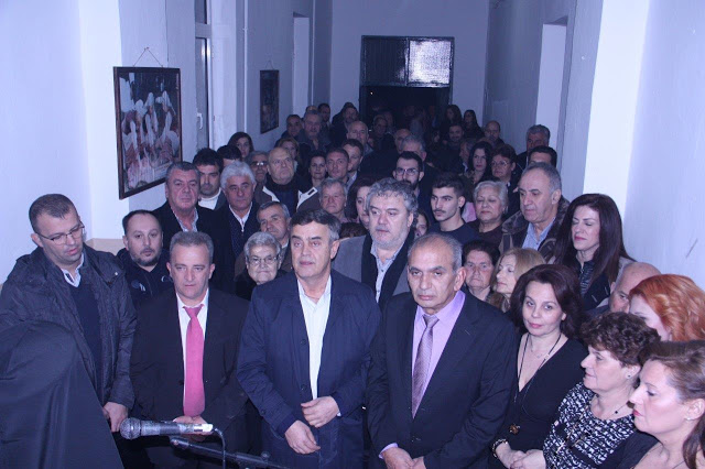 Εγκαινιάστηκε το Πολιτιστικό κέντρο – Άρωμα πολιτισμού στην Κωνωπίνα (ΔΕΙΤΕ ΦΩΤΟ)