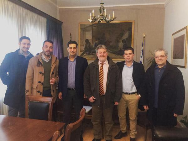 O  Συνδέσμος Αιτωλοακαρνάνων Επιχειρηματιών στον Δήμαρχο Αγρινίου