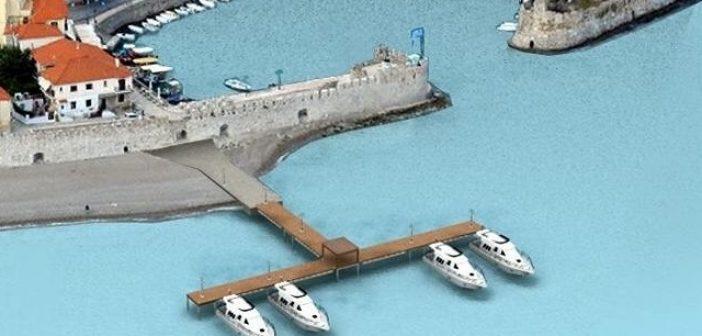 Πέρασε ομόφωνα η πρόταση για πλωτή εξέδρα στο λιμάνι της Ναυπάκτου