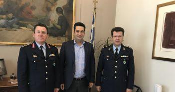 Στο Δημαρχείο Αγρινίου ο Γενικός Περιφερειακός Αστυνομικός Διευθυντής Δυτικής Ελλάδας
