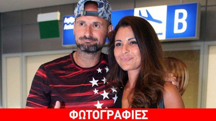Η Ειρήνη Κολιδά και ο Πάνος Αργιανίδης επέστρεψαν στην Ελλάδα – Δείτε φωτογραφίες από το αεροδρόμιο
