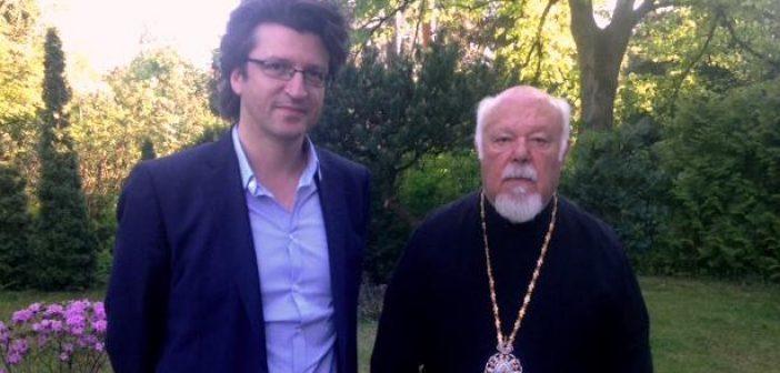 «Νέα γενιά, brain drain και προσφυγικό στη συζήτηση του ΓΓΔΒΜΝΓ με τον μητροπολίτη Γερμανίας κ. Αυγουστίνο»