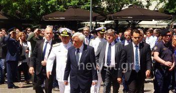 Κωνσταντίνος Μητσοτάκης: Αποχαιρετισμός στον τελευταίο των μεγάλων – Σύσσωμη η πολιτική ηγεσία στην Μητρόπολη (ΔΕΙΤΕ ΦΩΤΟ-ΒΙΝΤΕΟ)