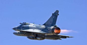 Πτώση αεροσκάφους Mirage 2000 στις Σποράδες – Σώος ο πιλότος