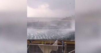 Τεράστια «ρουφήχτρα» δίπλα στην ακτή της Κέρκυρας! (ΔΕΙΤΕ ΒΙΝΤΕΟ)