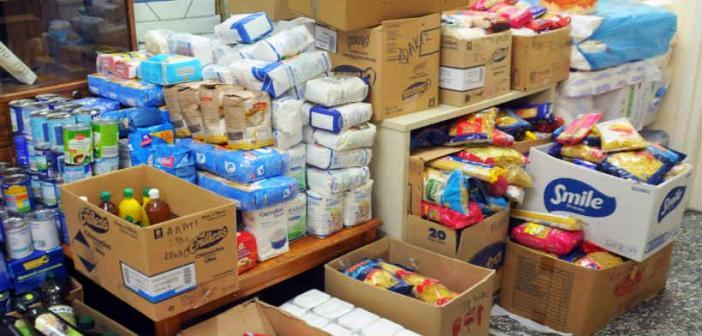 Διανομή προϊόντων σε δικαιούχους ΤΕΒΑ του Δήμου Ναυπακτίας