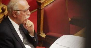 Βγήκε από το νοσοκομείο ο Αιτωλοακαρνάνας αν. υπουργός Εθνικής Άμυνας Δ. Βίτσας