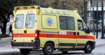 Ξανά με ένα ασθενοφόρο το νοσοκομείο Μεσολογγίου