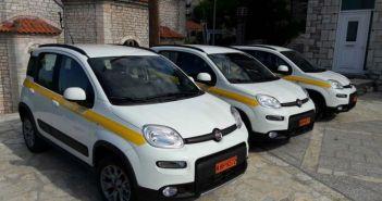 Παραλαβή τριών νέων αυτοκινήτων στο Δήμο Αγράφων (ΦΩΤΟ)