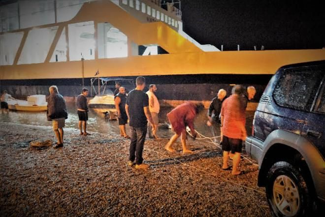 Πορθμείο Ρίου – Αντιρριου: Λύθηκαν φέρυ λόγω της σφοδρής κακοκαιρίας