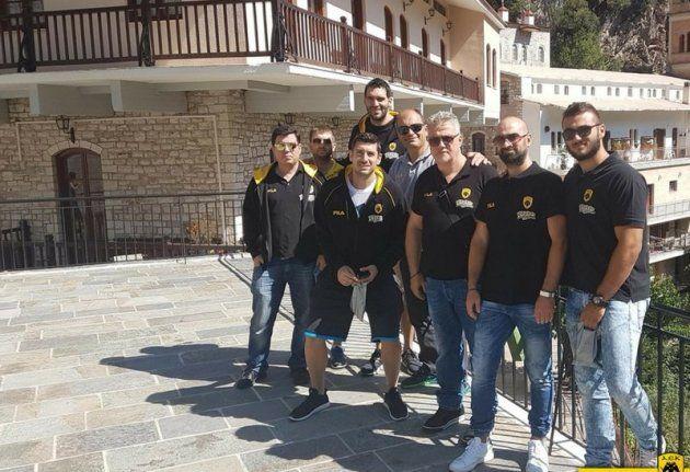 Προσκύνημα στην Παναγία την Προυσιώτισσα για την ομάδα μπάσκετ της ΑΕΚ (ΔΕΙΤΕ ΦΩΤΟ)