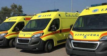 Πάνω από 20 ασθενοφόρα διεκδικεί το ΕΚΑΒ Δυτικής Ελλάδας