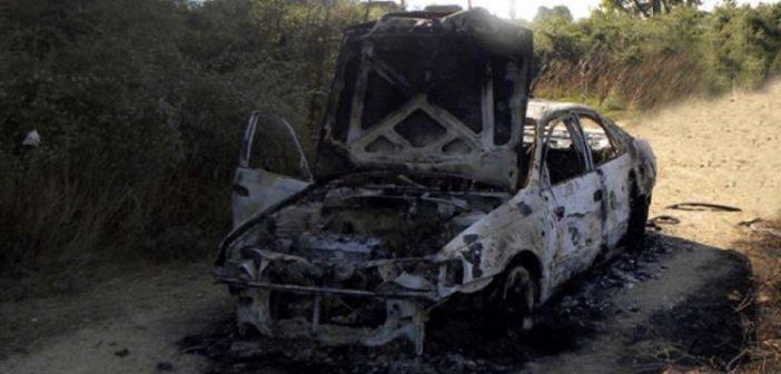Λάρισα: Εντοπίστηκε απανθρακωμένο πτώμα μέσα σε αυτοκίνητο
