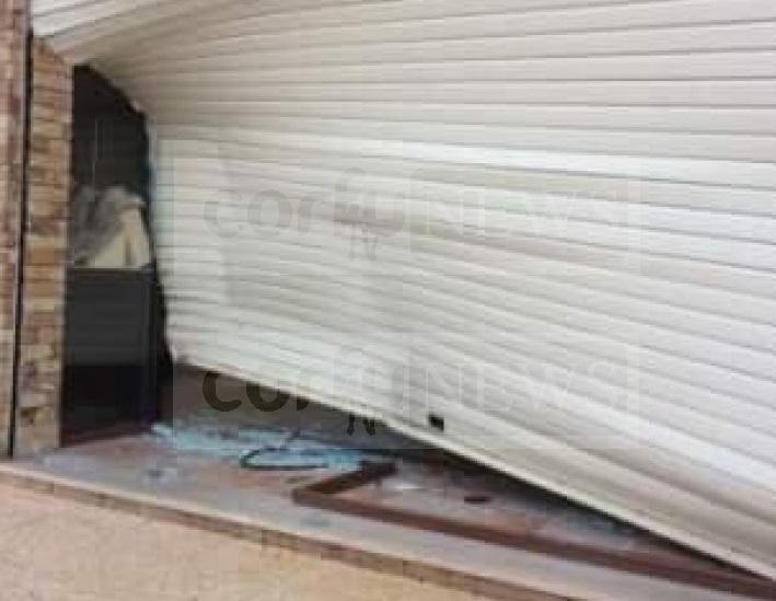 """Κέρκυρα: ''Μπούκαραν"""" με το αυτοκίνητο σε χρυσοχοείο και το άδειασαν (ΔΕΙΤΕ ΦΩΤΟ)"""