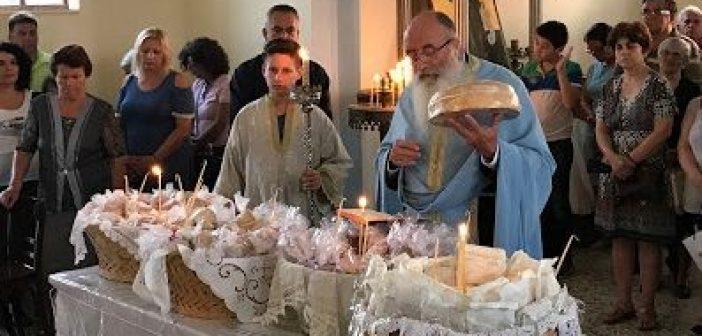 Παναιτώλιο: Πανηγυρικός Εσπερινός για την αποτομή της τιμίας κεφαλής του Προδρόμου και Βαπτιστού Ιωάννου