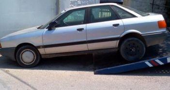 Απομάκρυνση εγκαταλειμμένων οχημάτων στο Μεσολόγγι