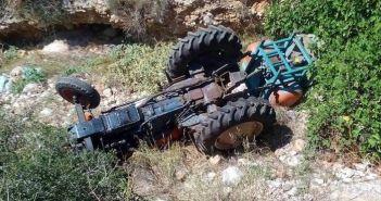 Δυτική Ελλάδα: Νεκρός 44χρονος πατέρας πέντε παιδιών που καταπλακώθηκε από τρακτέρ (ΔΕΙΤΕ ΦΩΤΟ)