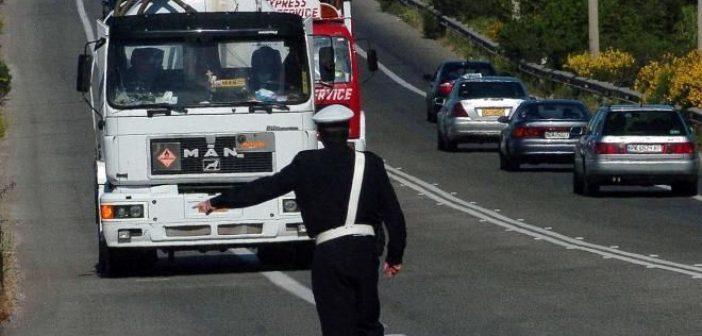Απαγόρευση κυκλοφορίας φορτηγών στις εθνικές οδούς εν όψει Δεκαπενταύγουστου