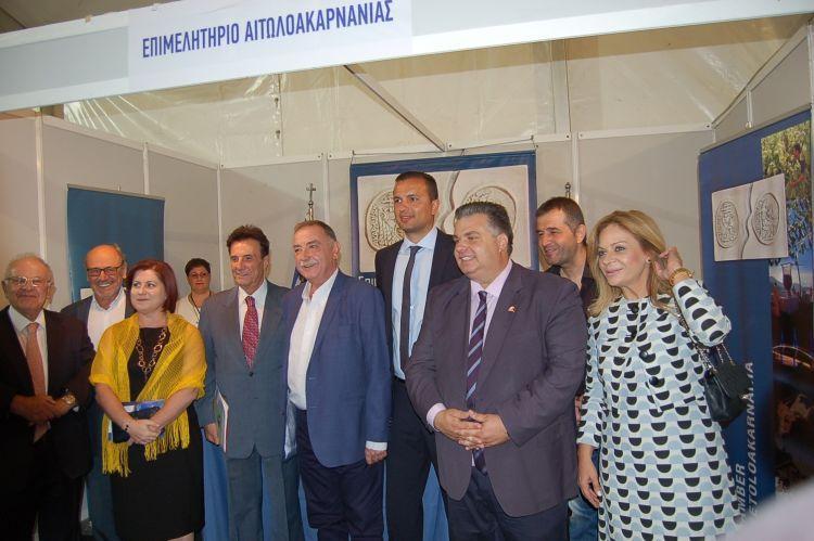 Το Επιμελητήριο Αιτωλοακαρνανίας στην 2η Αναπτυξιακή Έκθεση στο Μεσολόγγι