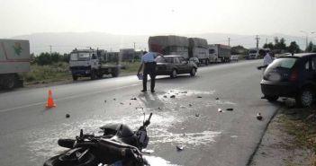 Δυτική Ελλάδα: Σοβαρά τραυματισμένος νεαρός οδηγός μηχανής σε τροχαίο στη Λεωφόρο Δημοκρατίας!
