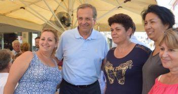 Ο πρώην πρωθυπουργός Αντώνης Σαμαράς στην Λευκάδα (ΔΕΙΤΕ ΦΩΤΟ)