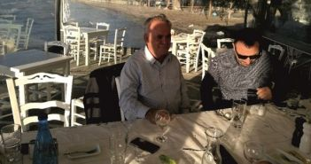 O Aντιπρόεδρος της κυβέρνησης Γιάννης Δραγασάκης στη Μπούκα Αμφιλοχίας (ΔΕΙΤΕ ΦΩΤΟ)