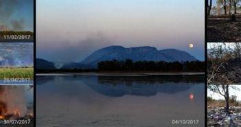 «Λιμνοθάλαζζα»: Πυρκαγιές στις όχθες της Κλείσοβας