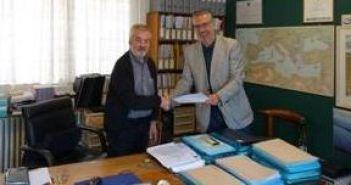 Υπογραφή Συμφώνου μεταξύ του Φορέα Διαχείρισης Λιμνοθάλασσας Μεσολογγίου και Μεσογειακού Ινστιτούτου για τη Φύση και τον Άνθρωπο