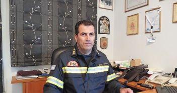 Ο Αγρινιώτης Περιφερειακός Διοικητής Β. Αιγαίου Χ. Μπόκας μιλά για τα νέα του καθήκοντα και για ένα θλιβερό συμβάν (ΗΧΗΤΙΚΟ)