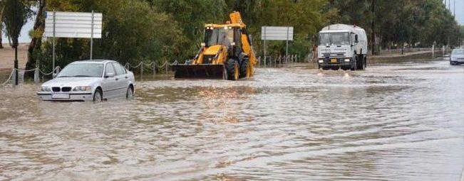 """Φτάνει και πλήττει την Ελλάδα η """"Ευρυδίκη"""" – Πλημμυρικά φαινόμενα στη Δυτική Ελλάδα"""