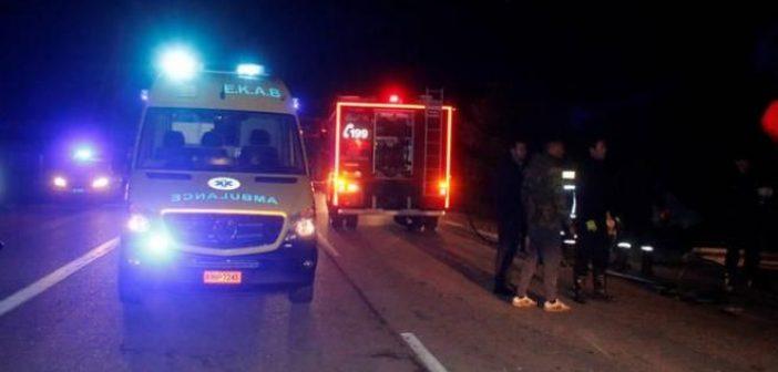 """Νεοχώρι: Τροχαίο δυστύχημα με νεκρούς δύο 29χρονους κοντά στον Λούρο – """"Βουτιά"""" θανάτου σε αύλακα"""