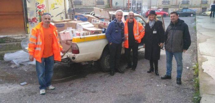 Στο πλευρό των πληγέντων του Αγρινίου ο Δήμος Φαρκαδόνας Τρικάλων (ΔΕΙΤΕ ΦΩΤΟ)