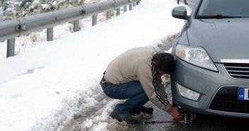 Αιτωλοακαρνανία: Που έχει διακοπεί η κυκλοφορία λόγω χιονιά και που είναι απαραίτητη η χρήση αντιολισθητικών αλυσίδων