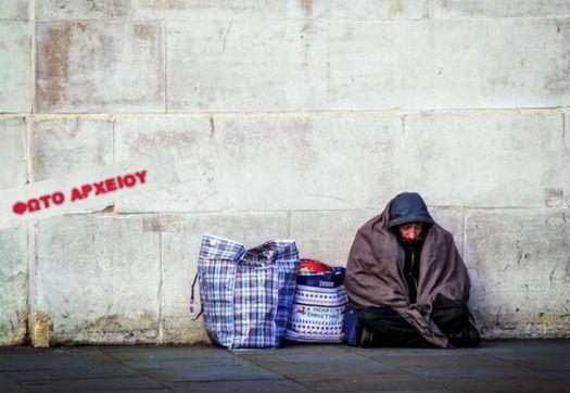 Άστεγος κοιμάται σε οικοδομή στον Αστακό!