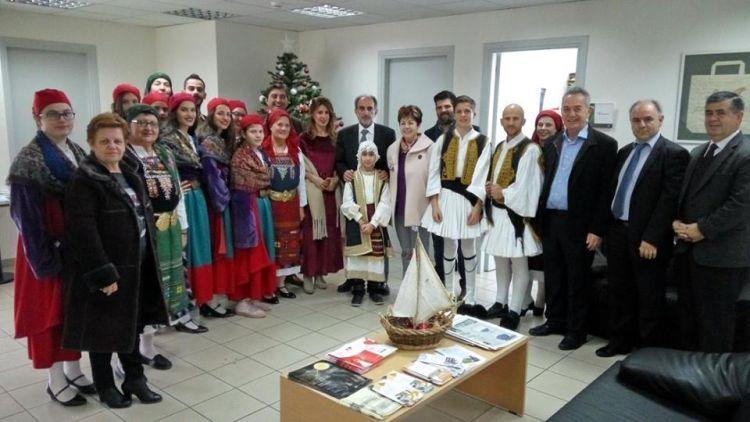 Με κάλαντα κι ευχές αποχαιρετά το 2017 η Περιφέρεια Δυτικής Ελλάδας (ΔΕΙΤΕ ΦΩΤΟ)