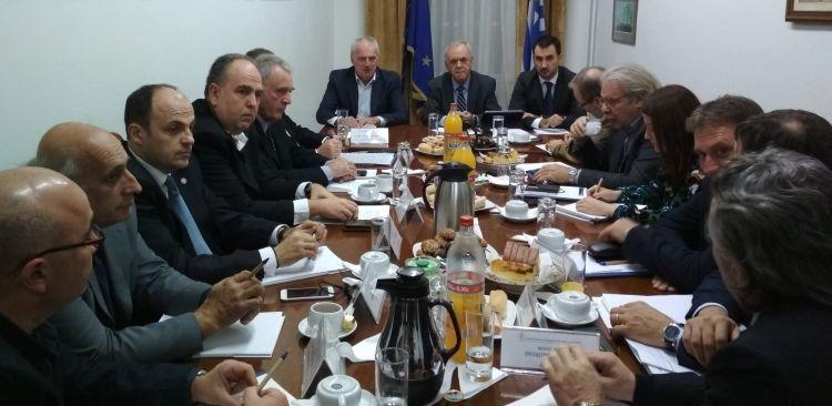 Συνάντηση του Αντιπροέδρου της Κυβέρνησης με το Σύνδεσμο Επιχειρήσεων και Βιομηχανιών Δυτικής Ελλάδος & Πελοποννήσου