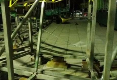 Δύο συλλήψεις στο Αίγιο για τον τραυματισμό μητέρας και των τριών παιδιών της στο εναέριο τρενάκι