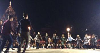 Παράσταση χορευτικών παιδικών τμημάτων στην Πλατεία Δημοκρατίας (ΔΕΙΤΕ ΦΩΤΟ + VIDEO)