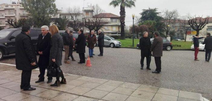 Αγρίνιο: Αποχαιρέτησαν τον Μιχάλη Καλαντζή