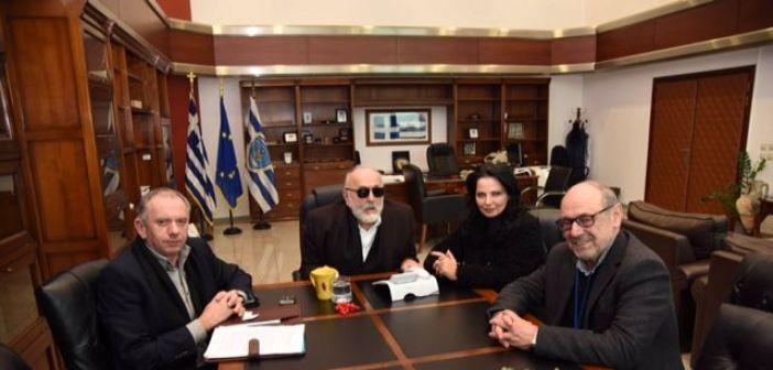 Επίσκεψη Λουκόπουλου στον Υπουργό Ναυτιλίας και Νησιωτικής Πολιτικής