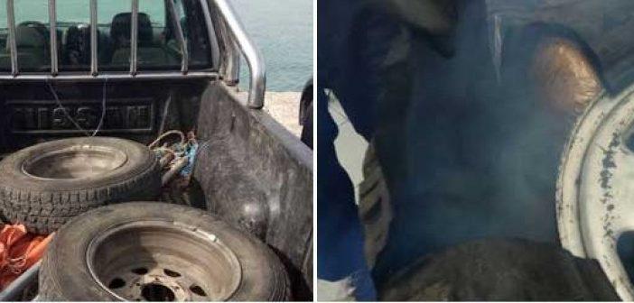 Θεσπρωτία: 23 κιλά χασίς κρυμμένα στις ζάντες τροχών (ΔΕΙΤΕ ΦΩΤΟ)