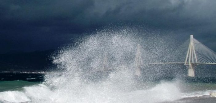 Κλειστή η πορθμειακή γραμμή Ρίου Αντιρρίου – Θυελλώδεις άνεμοι πνέουν στη περιοχή
