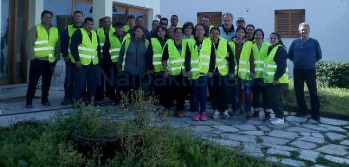 Κοινωφελής Εργασία: 19 άτομα ενισχύουν την διεύθυνση περιβάλλοντος του δήμου Ναυπακτίας (ΦΩΤΟ)
