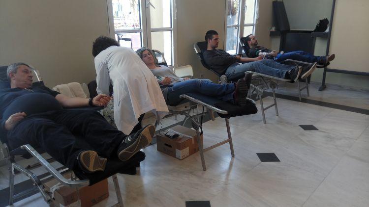 Αγρίνιο: Ολοήμερη εθελοντική αιμοδοσία αφιερωμένη στα παιδιά με νεοπλασματική ασθένεια (ΔΕΙΤΕ ΦΩΤΟ)