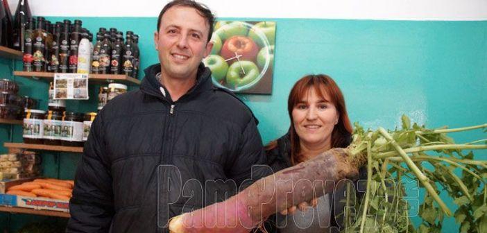 Ραπανάκι γίγας για την… όρεξη στην Πρέβεζα, πάνω από 4 κιλά! (ΔΕΙΤΕ ΦΩΤΟ)