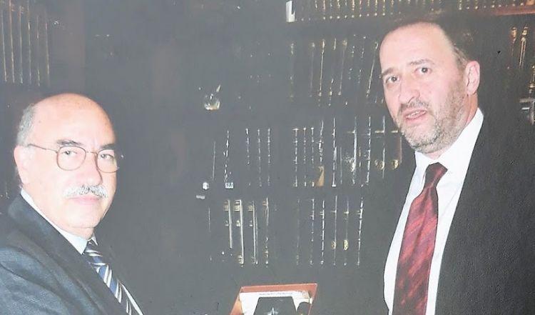 Επίσκεψη του Προέδρου του Αρείου Πάγου στα γραφεία του Δικηγορικού Συλλόγου Μεσολογγίου (ΔΕΙΤΕ ΦΩΤΟ)