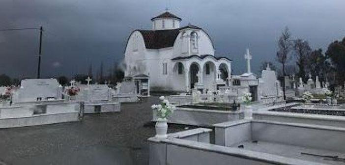Παναιτώλιο: Κλοπές στο κοιμητήριο της ενορίας Αγίας Τριάδας