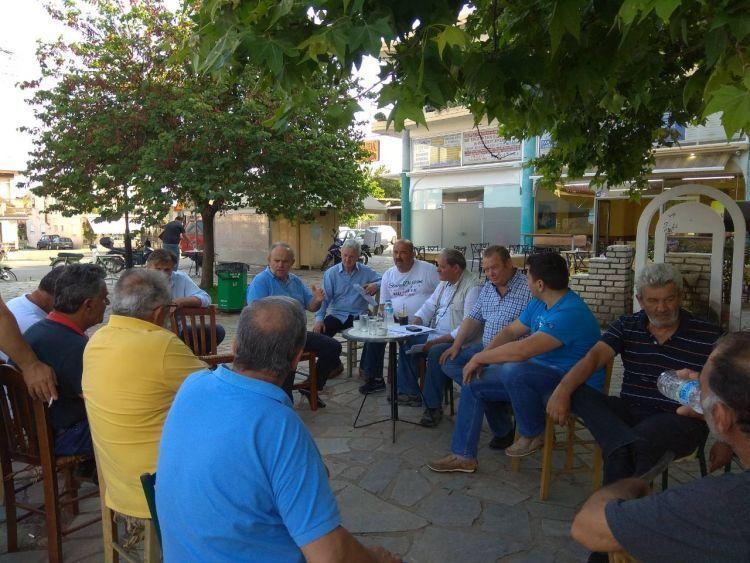 Τ.Ε. Αιτωλοακαρνανίας ΚΚΕ: Περιοδεία στις πληγείσες περιοχές του Αγρινίου